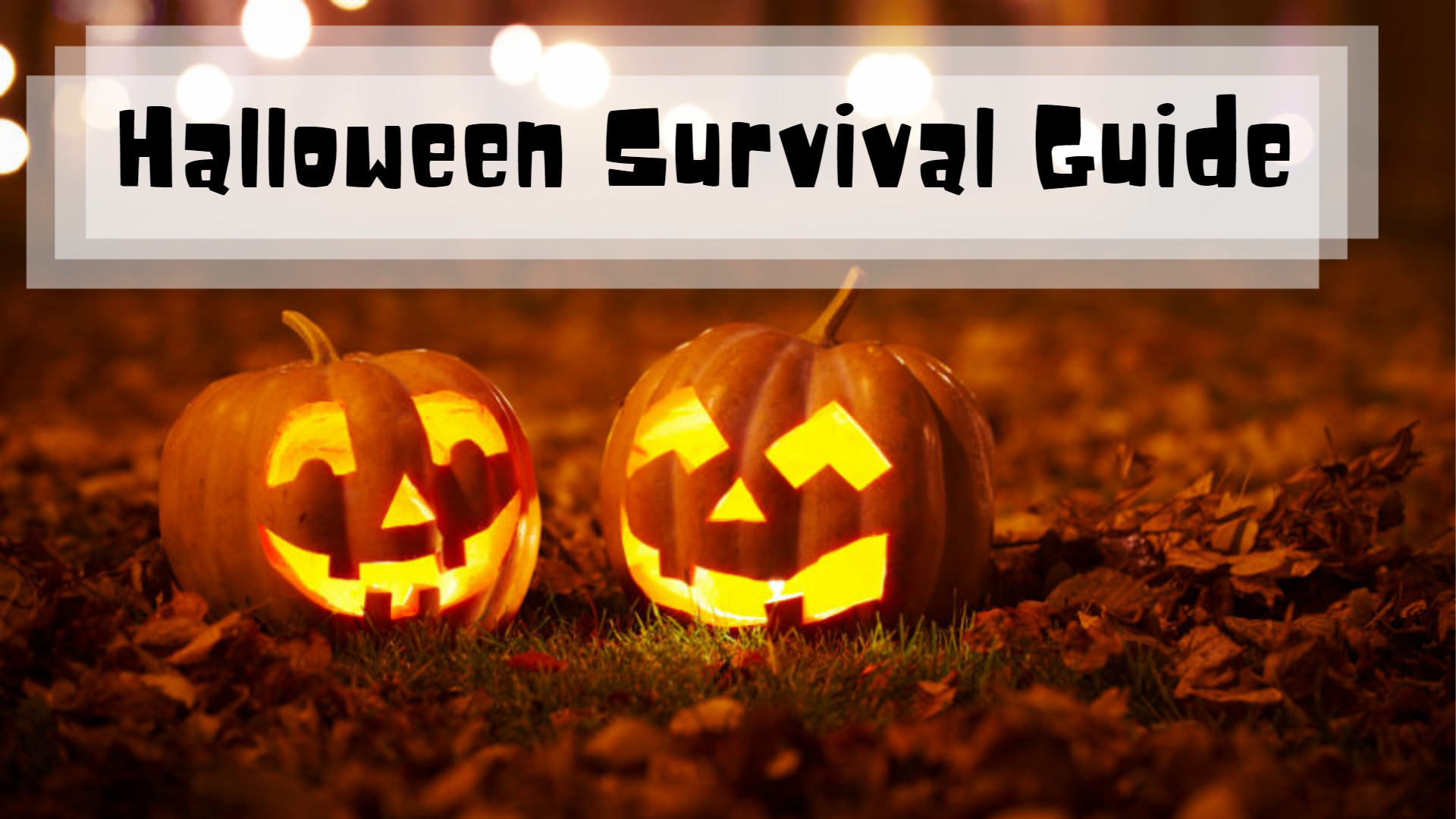 Halloween Survival Guide
