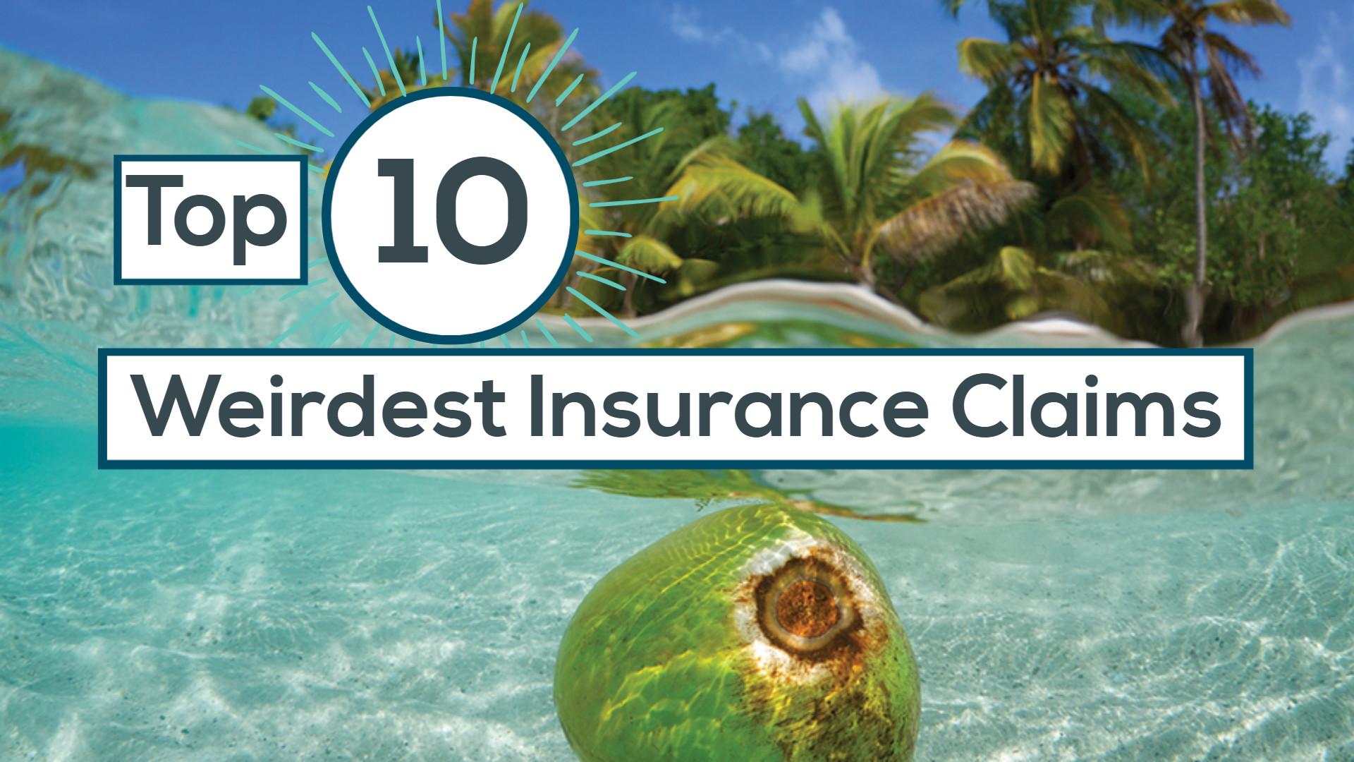 Weirdest insurance claims